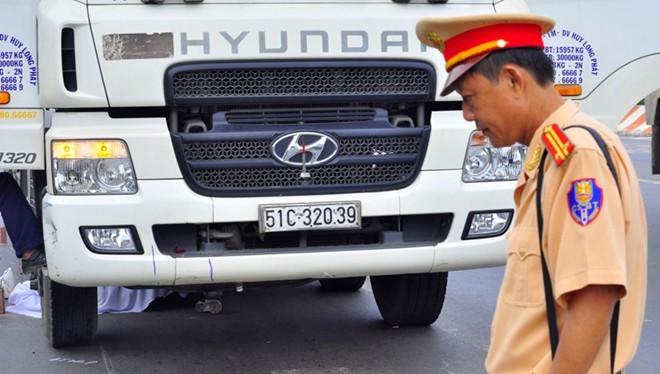 Một vụ tai nạn giao thông trên địa bàn Đồng Nai.