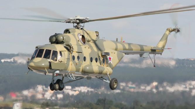 Trực thăng Mi-8. (Nguồn: compositimagazine.it)