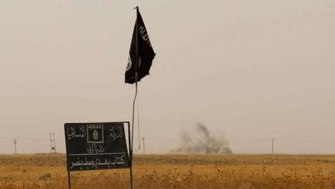 Cờ của Nhà nước Hồi giáo tự xưng. Ảnh minh họa: AFP