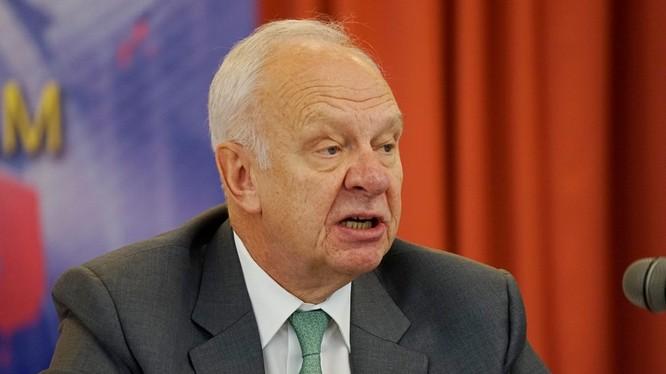 Đại sứ Liên bang Nga tại Việt Nam Konstantin Vnukov. Ảnh: Phan Anh
