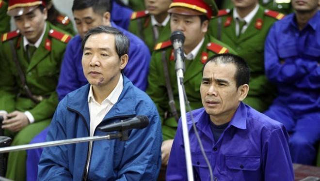 Dương Chí Dũng (nguyên Chủ tịch HĐQT Tổng Công ty Hàng hải Việt Nam, nguyên Cục trưởng Cục hàng hải, Bộ GTVT) bị tuyên án tử hình về tội Tham ô tài sản. Ảnh: Tuổi Trẻ.