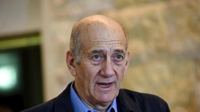Cựu thủ tướng Israel Ehud Olmert - Ảnh: Reuters