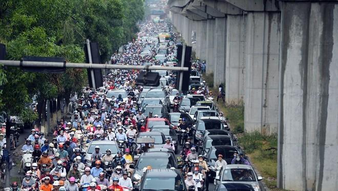 Hà Nội, TP HCM được quyền hạn chế phương tiện cá nhân