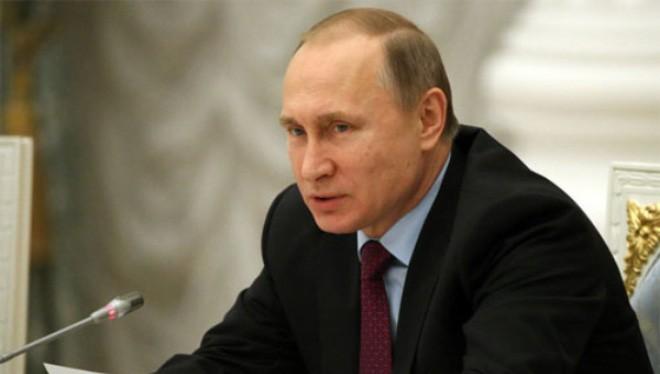 Tổng thống Nga Vladimir Putin - Ảnh: Getty/Bloomberg