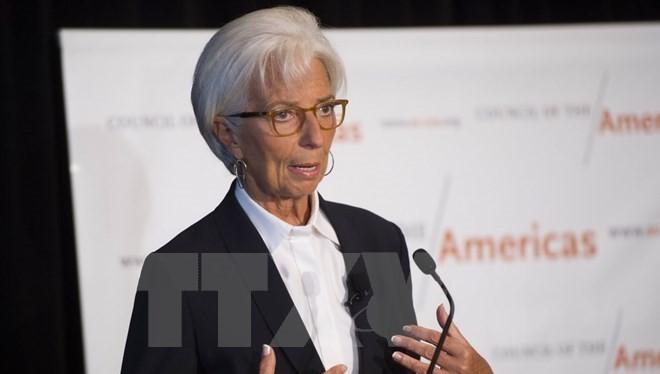 Giám đốc điều hành IMF Christine Lagarde. (Ảnh: AFP/TTXVN)