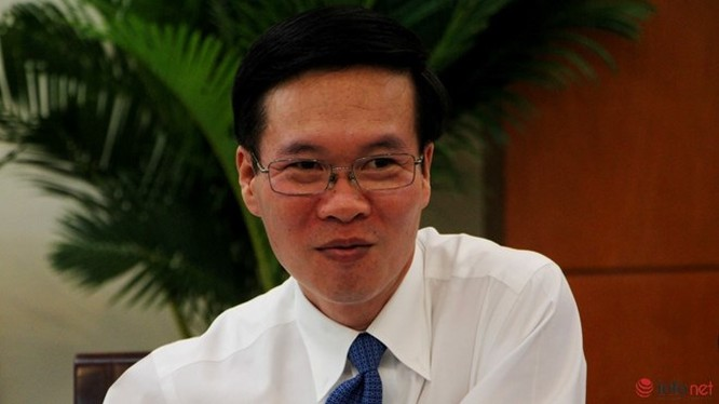 Ông Võ Văn Thưởng - Phó Bí thư thường trực Thành ủy TP.HCM.