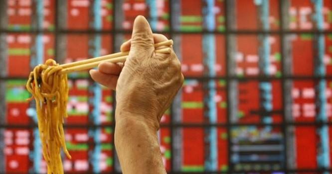 Khoảng 86% đũa ở Đài Loan được nhập từ Trung Quốc, 12% từ Việt Nam, 1,8 % từ Indonesia và các nước khác. Ảnh Reuters