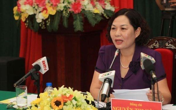 Phó Thống đốc Ngân hàng Nhà nước Nguyễn Thị Hồng. (Nguồn: Ngân hàng Nhà nước)