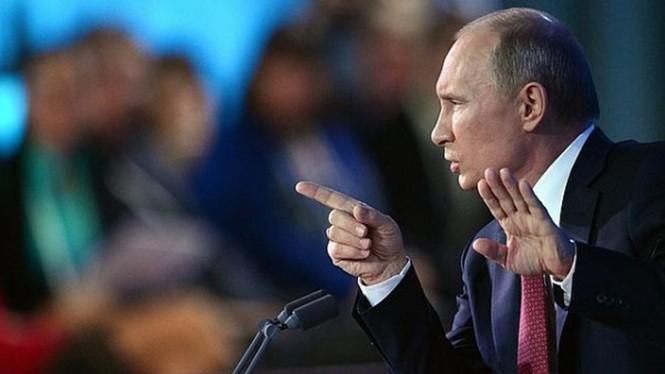 Tổng thống Nga Vladimir Putin đã ký sắc lệnh thông qua chiến lược an ninh quốc gia mới - Ảnh: AFP