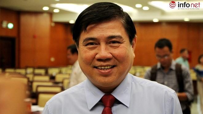 Ông Nguyễn Thành Phong - Chủ tịch UBND TP.HCM.