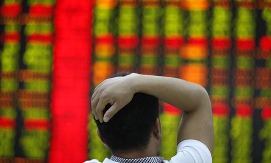 Thị trường chứng khoán Trung Quốc tê liệt hôm 4-1. Ảnh: Corbis