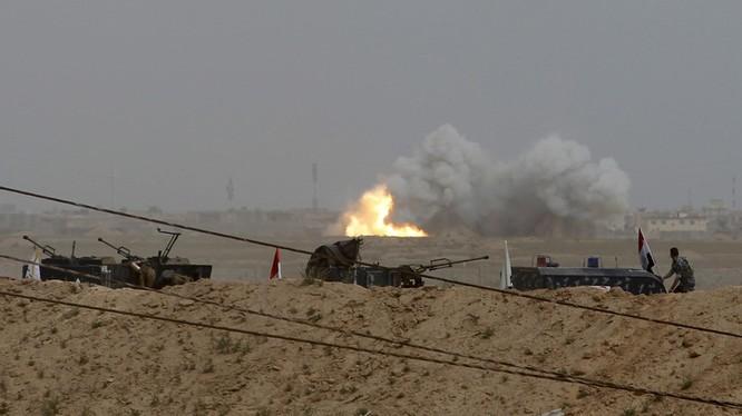 Nhắm mục tiêu vào nơi ở của một chỉ huy IS ở Mosul, Iraq.
