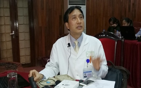 GS.TS Trịnh Hồng Sơn thông tin về kế hoạch chuyển giao kỹ thuật ghép đầu người tại Việt Nam.