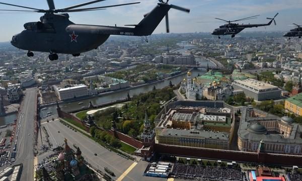 Quân đội Nga trong lễ duyệt binh Ngày Chiến Thắng
