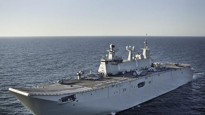 Tàu TGC Anadolu được đóng dựa trên thiết kế tàu Juan Carlos I - Ảnh: Hurriyet Daily News