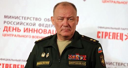 Trung tướng Alexander Dvornikov, người chỉ huy chiến dịch quân sự của Nga tại Syria. Ảnh: Debka