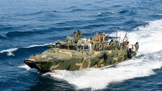 Iran đã thả 10 lính Mỹ cùng 2 tàu tuần tra xâm phạm lãnh hải nước này ngày 13.1 - Ảnh minh họa: Hải quân Mỹ