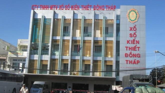 Trụ sở Công ty TNHH MTV Xổ số kiến thiết Đồng Tháp - Ảnh: Thành Nhơn