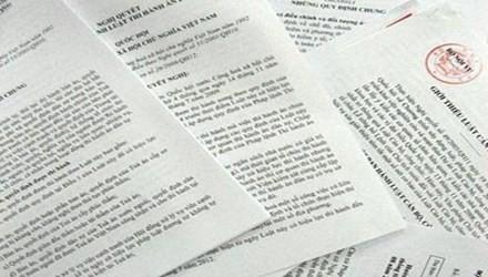 Hơn 12.000 văn bản 'có vấn đề'