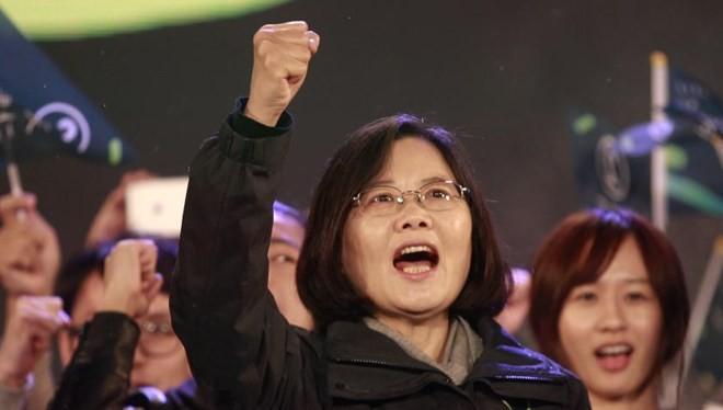 Bà Thái Anh Văn thắng cử, trở thành nữ Tổng thống đầu tiên của Đài Loan