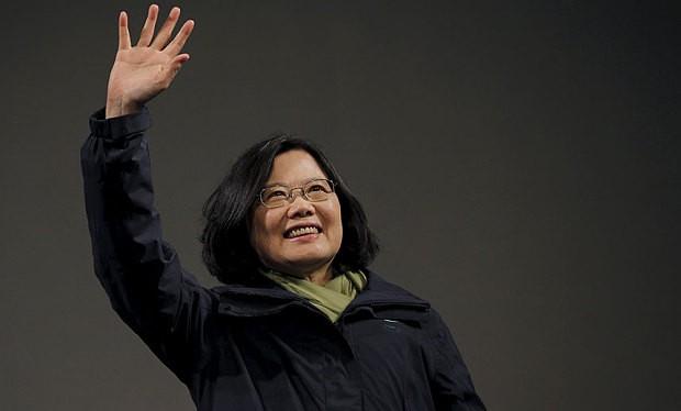 Bà Thái Anh Văn đã giành chiến thắng trong cuộc bầu cử người đứng đầu chính quyền Đài Loan (Trung Quốc).
