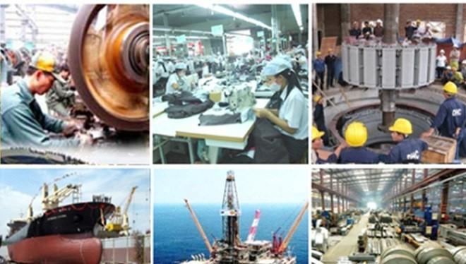 Sản xuất công nghiệp đã có bước phát triển mạnh