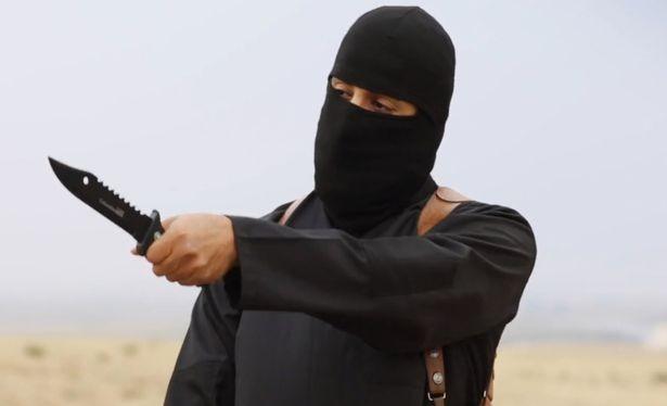 """""""John Thánh chiến"""" xuất hiện trong một video của IS. Ảnh: Mirror"""