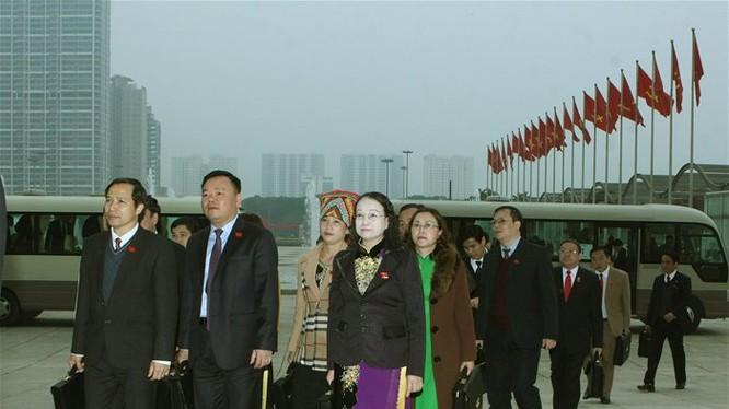 Các đại biểu dự phiên họp trù bị sáng 20-1. Ảnh: TTXVN