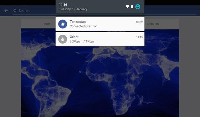 Facebook trên Android tích hợp Tor, công cụ của các hacker
