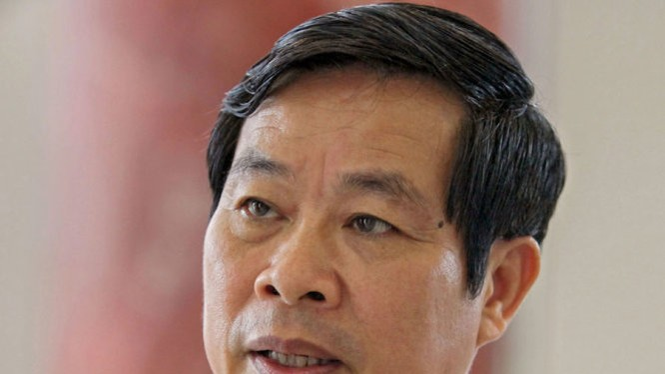 Bộ trưởng Bộ Thông tin và truyền thông Nguyễn Bắc Son trả lời báo chí - Ảnh: Việt Dũng