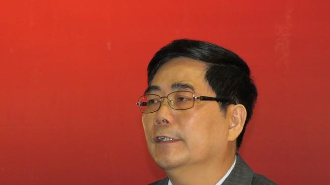 Bộ trưởng Cao Đức Phát. Ảnh Minh Quang.