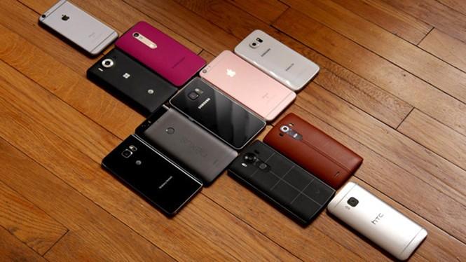 Thị trường smartphone hiện nay có vô số sản phẩm cao cấp lẫn giá rẻ - Ảnh chụp từ PhoneArena
