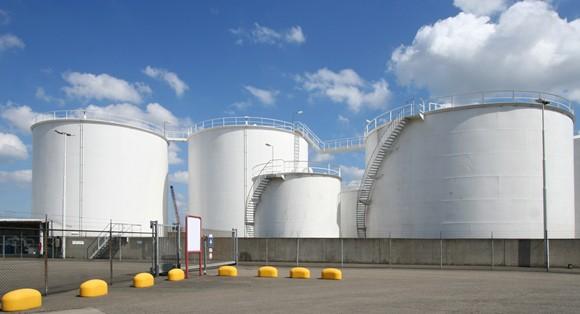 Kho xăng dầu của Công ty