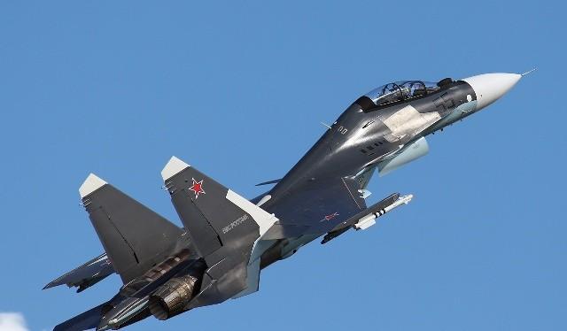 Máy bay chiến đấu đa năng Su-30SM.