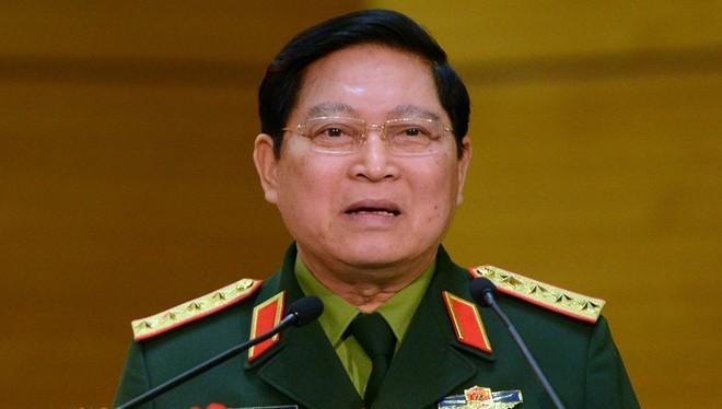 Đại tướng Ngô Xuân Lịch, Ủy viên Bộ Chính trị dành gần hai giờ chia sẻ về nhiều vấn đề sáng 30/1. Ảnh: Anh Tuấn.