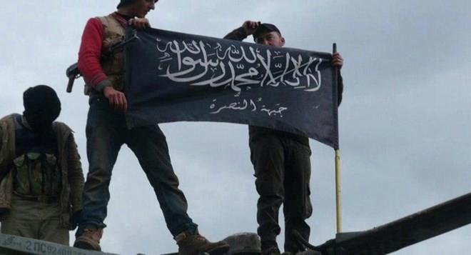 Phiến quân Mặt trận al-Nusra.