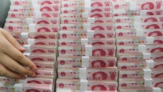Đồng nhân dân tệ của Trung Quốc. (Ảnh: AFP)