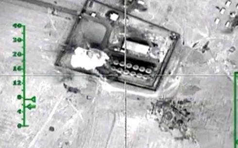 Nga công bố video tiêu diệt kho chứa dầu của IS