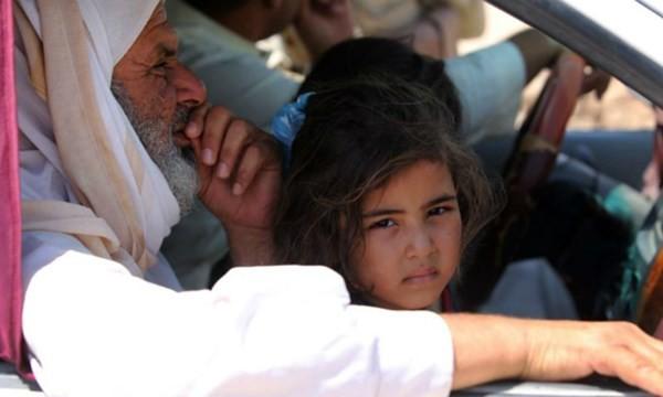 Clip cả một thành phố tại Iraq có nguy cơ chết đói do bị vây hãm