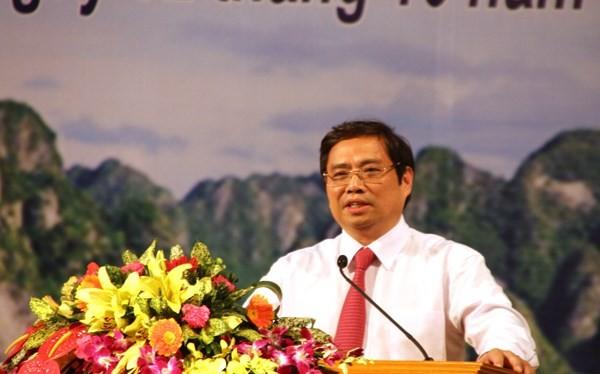Ông Phạm Minh Chính làm Trưởng Ban Tổ chức Trung ương.