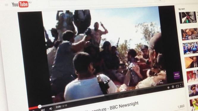 Phim của BBC về những phút cuối đời chưa từng công bố của tổng thống Muammar Gaddafi