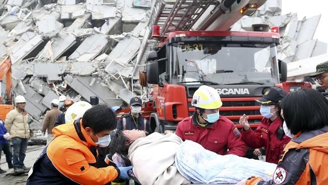 4 người Việt mất tích trong vụ động đất ở Đài Loan
