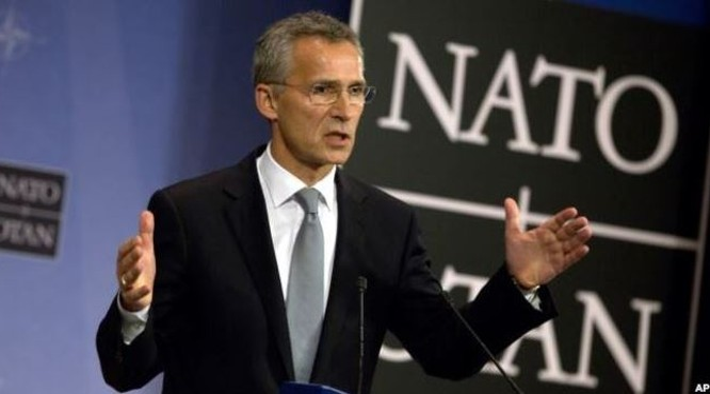 """NATO... """"ghen"""": Chiến dịch không kích của Nga cản trở nỗ lực hòa bình ở Syria"""