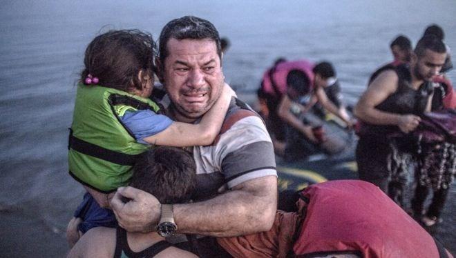 Laith Majid và các con đến đảo Kos, Hy Lạp an toàn.
