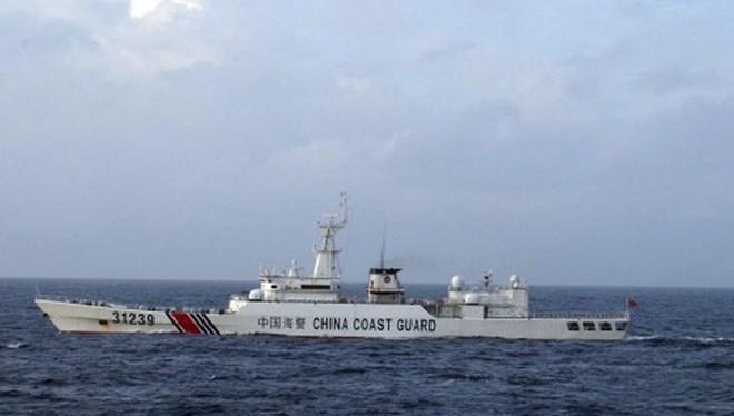 Tàu hải cảnh 31239 của Trung Quốc. Ảnh minh họa. (Nguồn: AP)