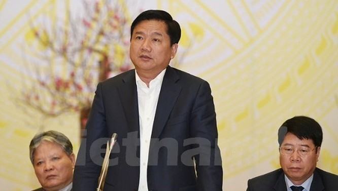 Bộ trưởng Bộ Giao thông Vận tải Đinh La Thăng. (Ảnh: Việt Hùng/Vietnam+)