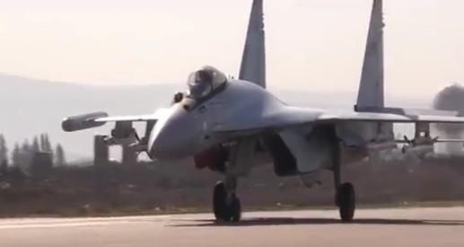 Video nhiệm vụ của Su-35 Nga ở Syria là gì ?