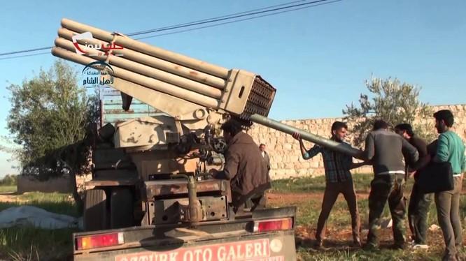 Phe đối lập Syria nhận được tên lửa Grad từ phương Tây