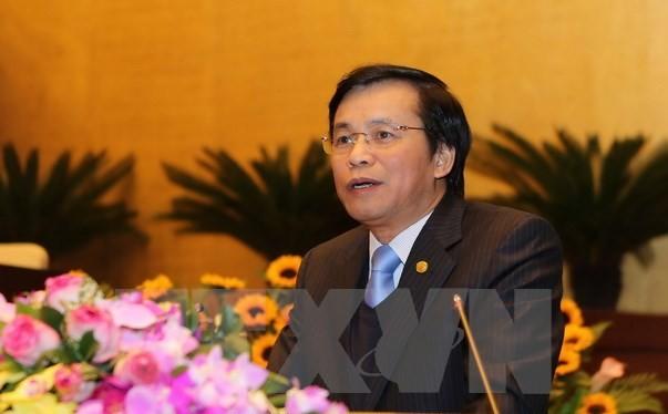 Chủ nhiệm Văn phòng Quốc hội Nguyễn Hạnh Phúc. Ảnh: Dương Giang/TTXVN