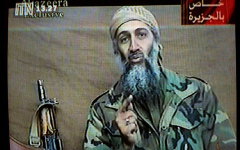 Trùm khủng bố Bin Laden. Ảnh: Getty.